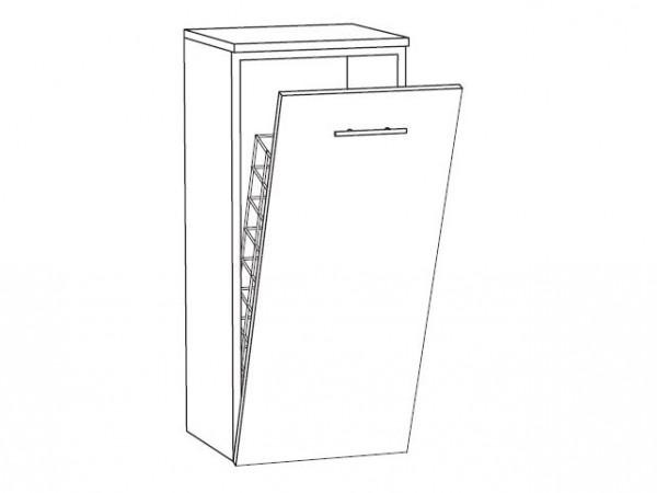 Marlin Bad 3250 Bad-Highboard 40 cm breit HBW4F, mit Wäschekippe