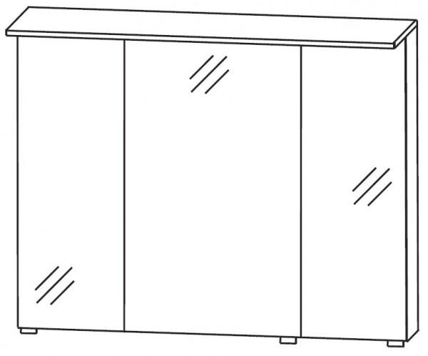 Puris Quada Spiegelschrank 100 cm breit S2A531068