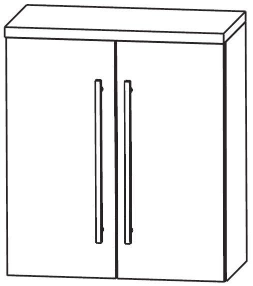 Puris Crescendo Bad-Oberschrank 60 cm breit OGA416A7