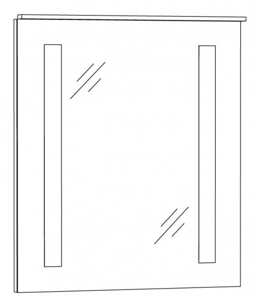Marlin Bad 3130 - Azure Badspiegel 60 cm breit SPFLS6