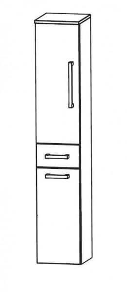 Puris WoW Bad-Hochschrank mit Wäschekippe 40 cm breit HNA054AW