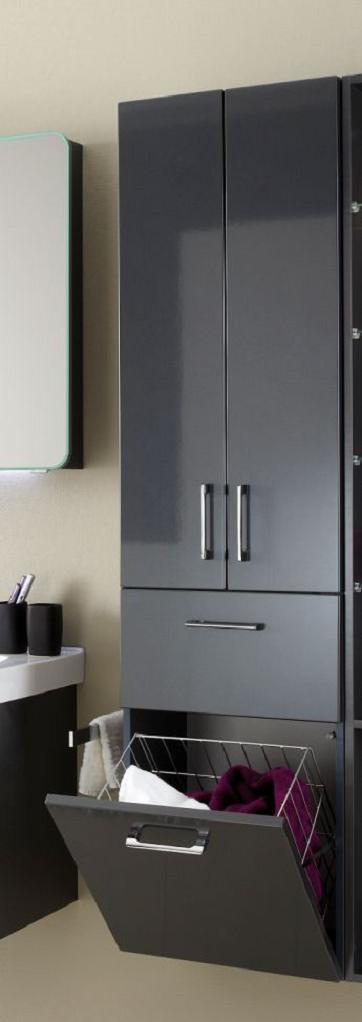 pelipal pina hochschrank mit w schekippe 45 cm pn hs 02. Black Bedroom Furniture Sets. Home Design Ideas