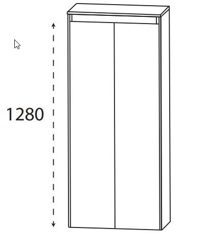 Puris Xpression - Mittelschrank MNA816DGL - 60 cm