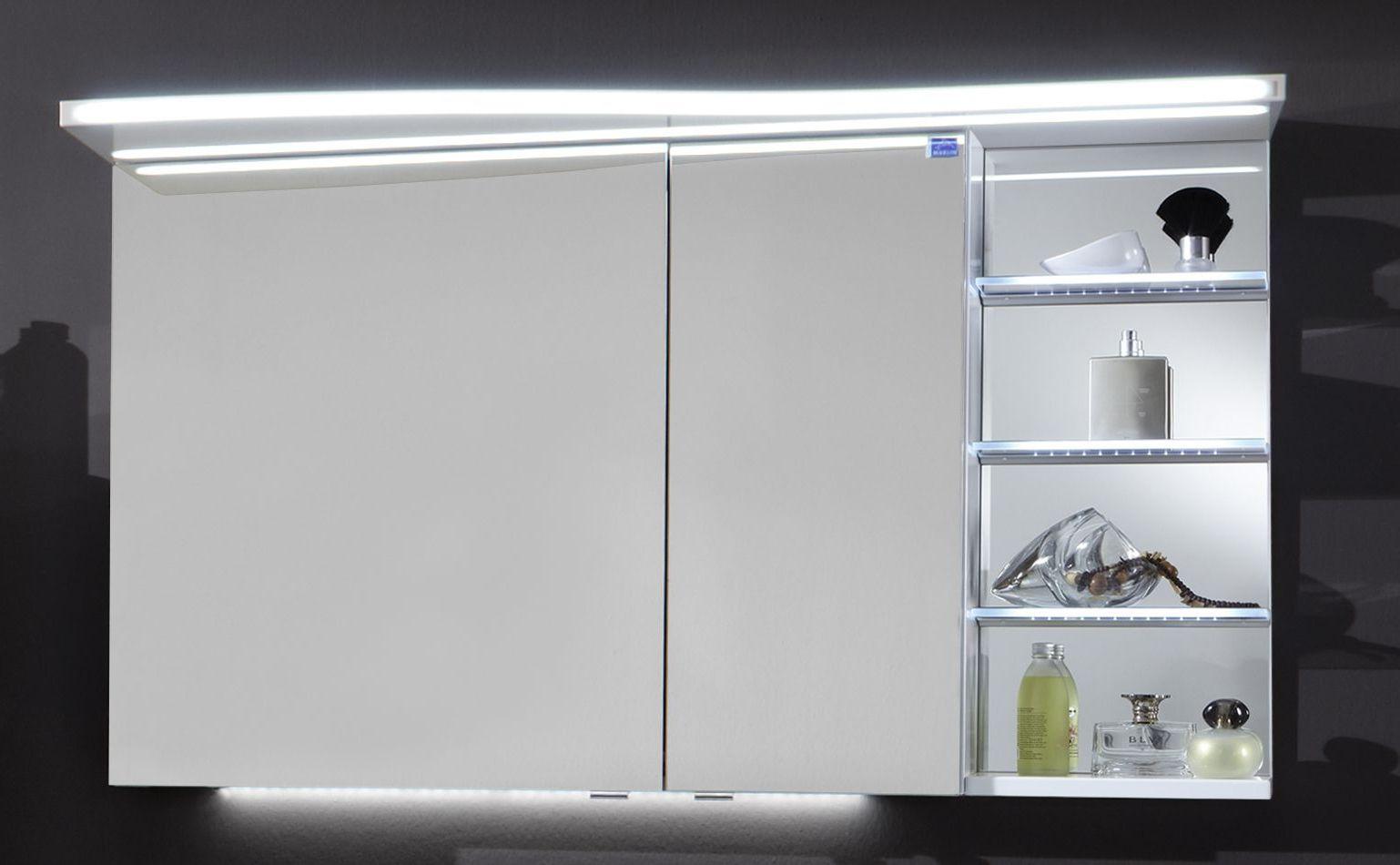 marlin bad 3160 motion spiegelschrank 120 cm breit sobs63r sobs63rls badm bel 1. Black Bedroom Furniture Sets. Home Design Ideas