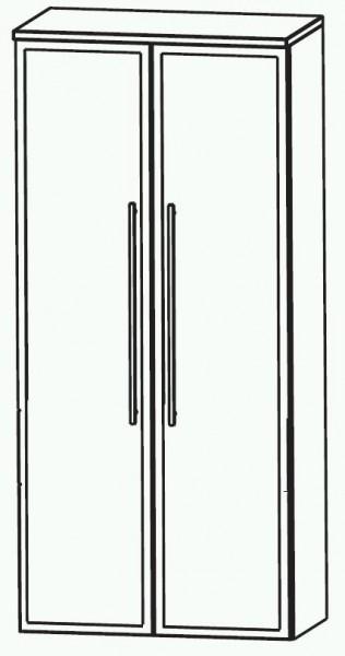 Puris Swing Glastür Bad-Mittelschrank 60 cm breit MNA816B7