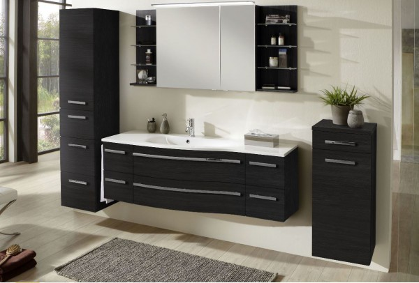 marlin bad 3160 motion badm bel set 150 cm breit kombinierbar becken links badm bel 1. Black Bedroom Furniture Sets. Home Design Ideas