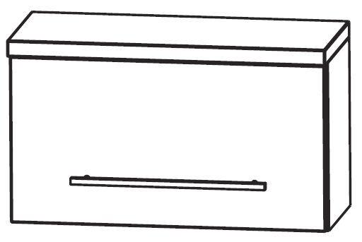Puris Star Line Bad-Oberschrank 60 cm breit OMA216A7K