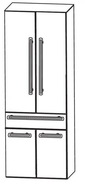 Puris Brillant Bad-Hochschrank 60 cm breit HNA056001
