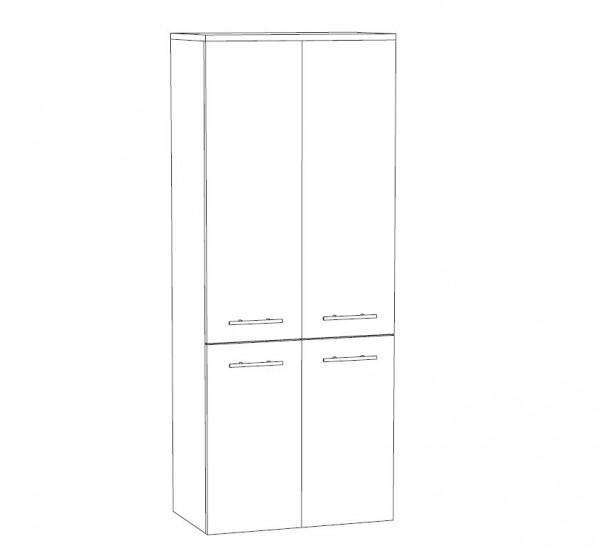 Marlin Bad 3100 - Scala Bad-Mittelschrank 60 cm breit MTT6F