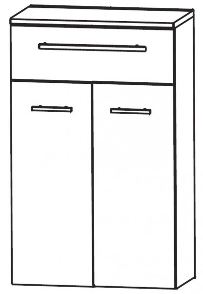 Puris Vuelta Bad-Highboard 60 cm breit HBA556W01
