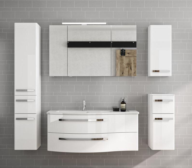 Pelipal fokus 4030 bad spiegelschrank 120 cm breit for Spiegelschrank bad 120 cm breit