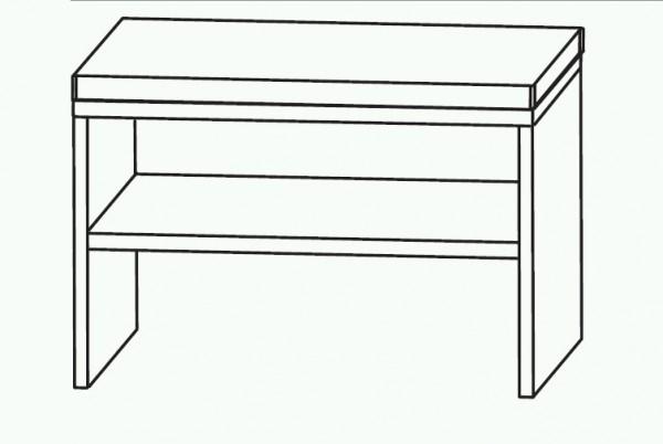 Puris Classic Line Bad-Sitzbank 60 cm breit SETBANK6