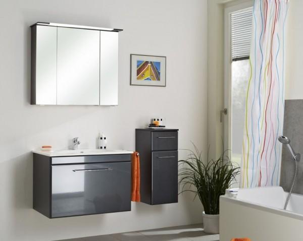 Pelipal 378 Seo Grey - Badmöbelset 77 cm breit