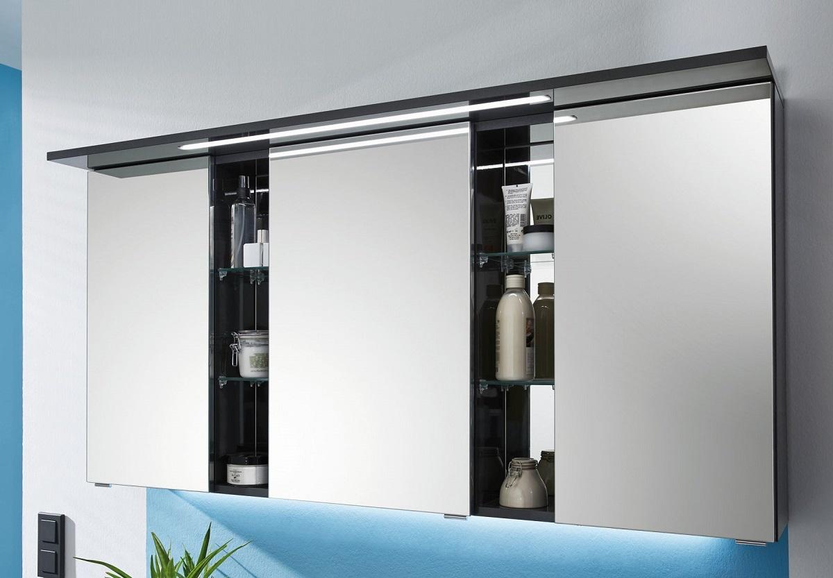 puris linea bad spiegelschrank 130 cm breit s2a4213s1 badm bel 1