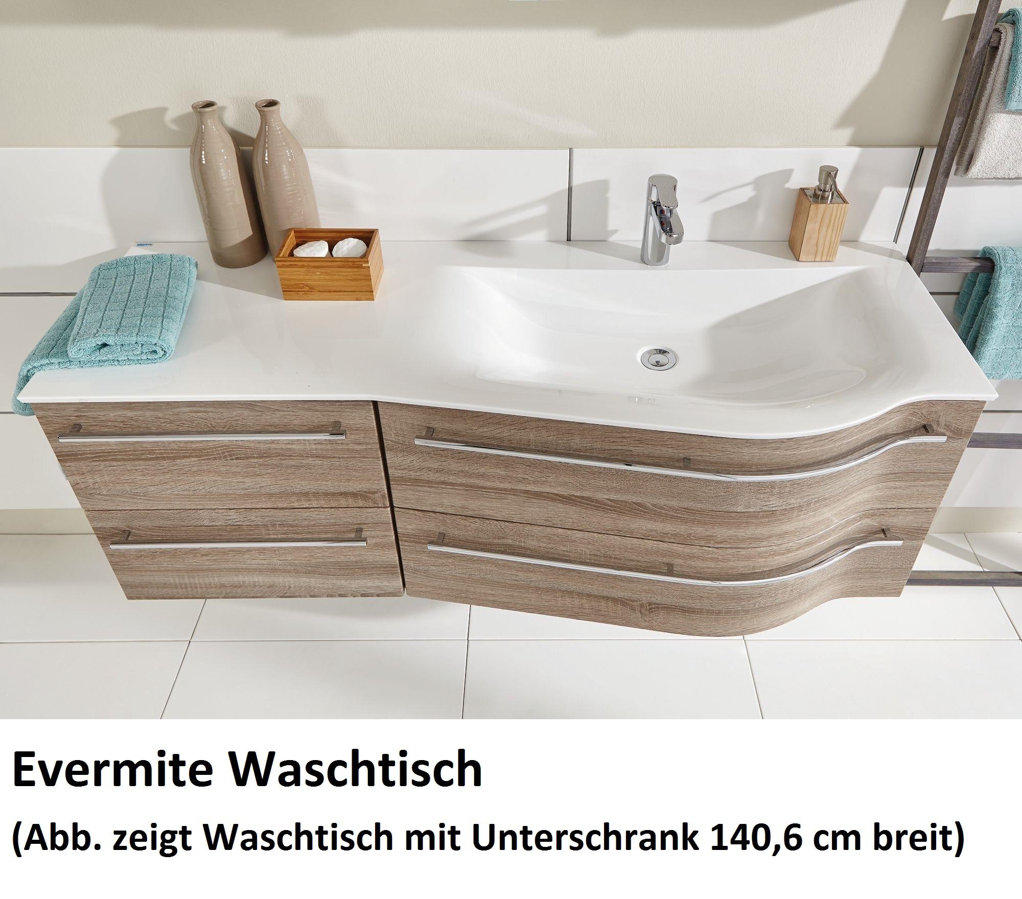 Puris Swing Badmobel Set 140 6 Cm Breit Kombinierbar Becken Rechts