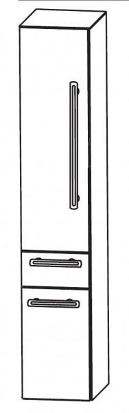Puris Brillant Bad-Hochschrank 30 cm breit HNA053001