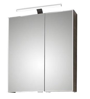 Pelipal 6110 Spiegelschrank mit LEDplus-Aufsatzleuchte 60 cm breit 6110-SPS 09