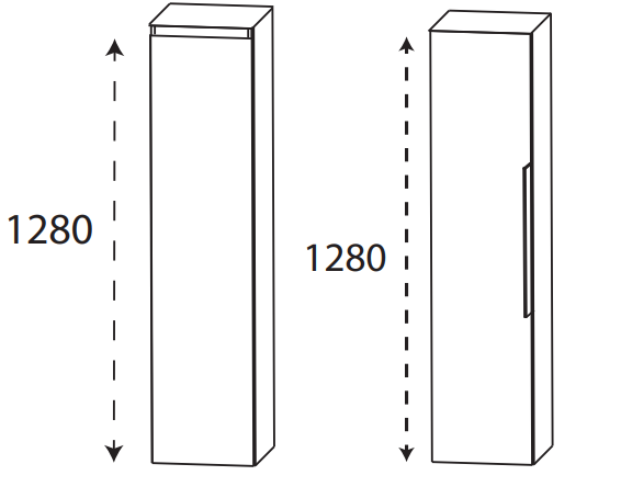 Puris 4Landa - Mittelschrank / 30 cm