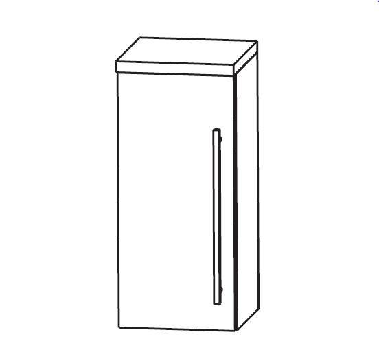 Puris Classic Line Bad-Oberschrank 30 cm breit OGA413A7