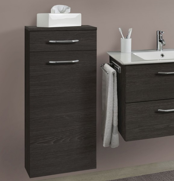 Marlin Bad 3030 - Christall Bad-Highboard 40 cm breit HBST4F