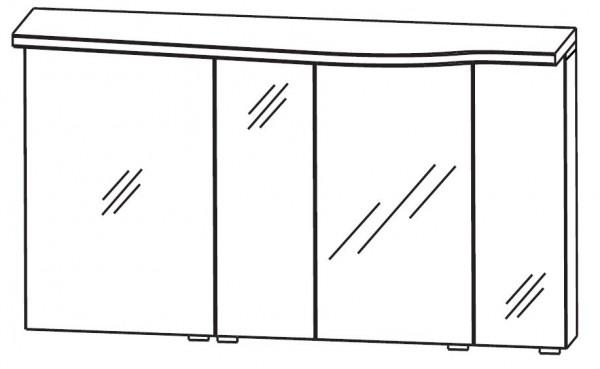 Puris Swing Spiegelschrank 140 cm breit SET40143L