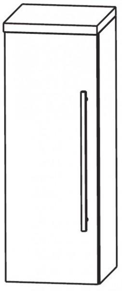Puris Star Line Bad-Highboard 30 cm breit HBA513A7 L/R