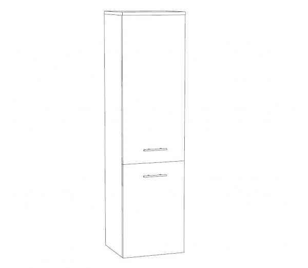 Marlin Bad 3250 Bad-Mittelschrank 40 cm breit MTT4F