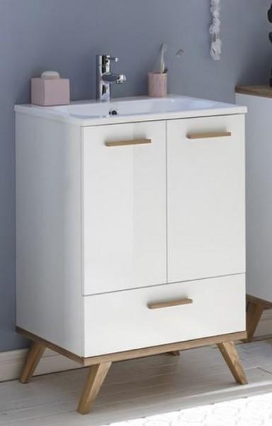 Pelipal 923 Noventa - Waschtisch mit Unterschrank 60 cm