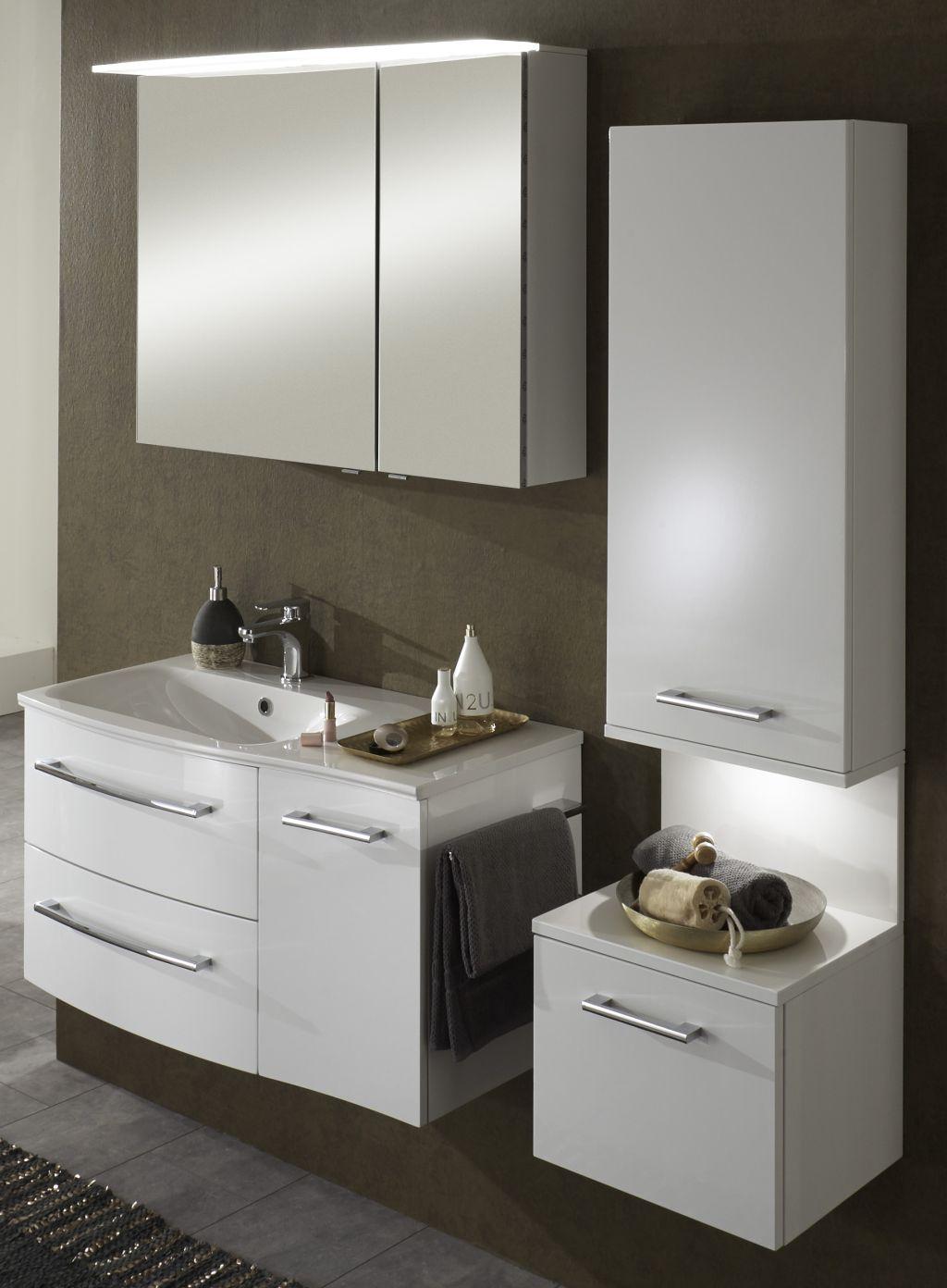 marlin bad 3120 badm bel set 90 cm breit badm bel 1. Black Bedroom Furniture Sets. Home Design Ideas
