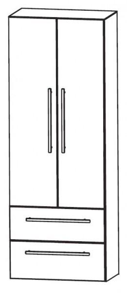 Puris Fresh Bad-Hochschrank 60 cm breit HNA08604