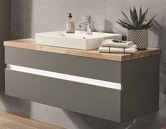 b.essence Set - Waschtisch mit Unterschrank - 120 cm breit