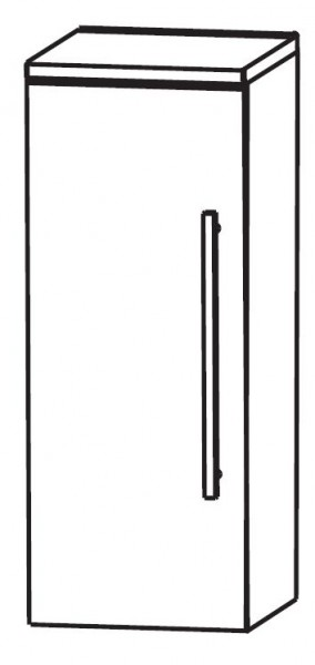 Puris Linea Bad-Highboard 40 cm breit HBA414A01
