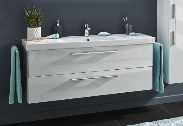 Puris Fine Line Waschtisch mit Unterschrank 122 / 125 cm breit