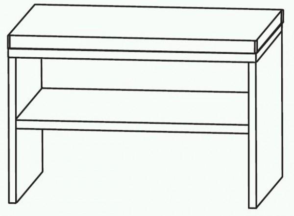 Puris Swing Bad-Sitzbank 60 cm breit SETBANK6
