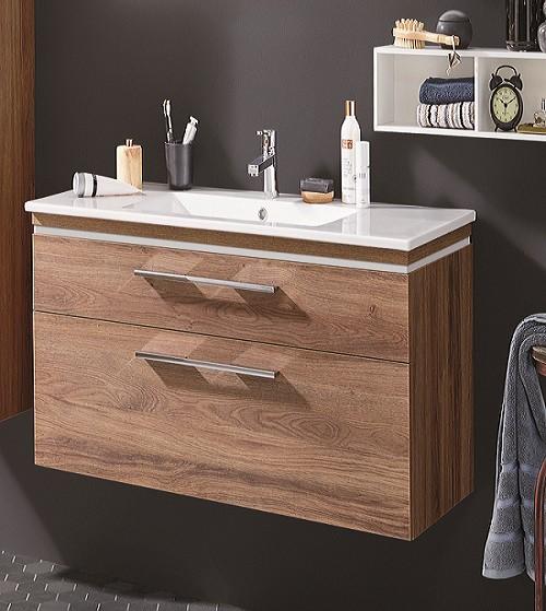 Puris Cool Line Waschtisch mit Unterschrank 62 cm breit - Keramik