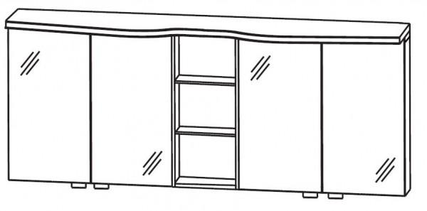 Puris Swing Spiegelschrank 180 cm breit SET41183
