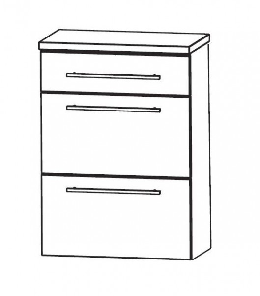 Puris Speed Bad-Highboard 60 cm breit HBA566A