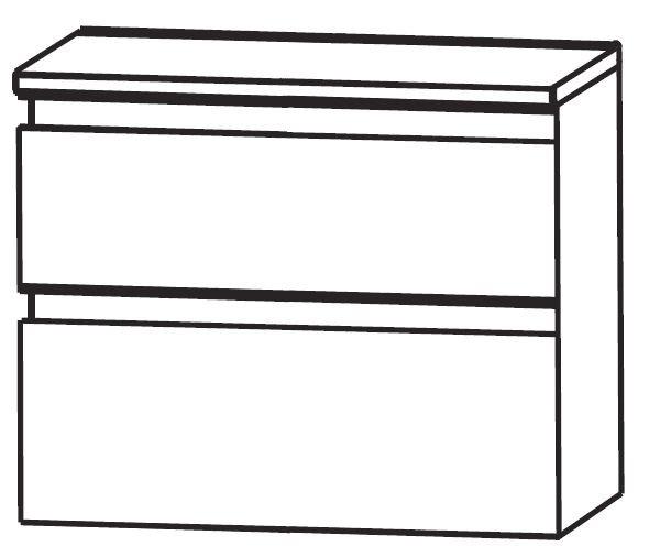 Puris Purefaction Bad-Unterschrank 60 cm breit UNA366A01