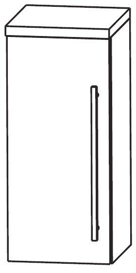 Puris Star Line Bad-Oberschrank 40 cm breit OGA414A7