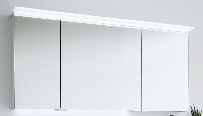 puris aspekt bad spiegelschrank 130 cm breit badm bel 1