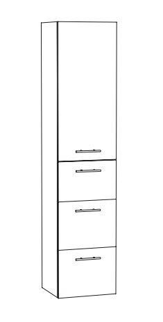 Marlin Bad 3260 Bad-Hochschrank HTAAA4 L/R