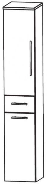 Puris Crescendo Bad-Hochschrank mit Wäschekippe 40 cm breit HNA054A7W
