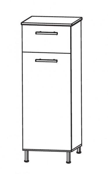 Puris Quada Bad-Highboard 30 cm breit HBA553W1S