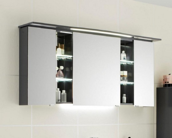 pelipal contea spiegelschrank 130 cm breit ct s3d7 1273 16 ct s3d8 1273 16 badm bel 1. Black Bedroom Furniture Sets. Home Design Ideas