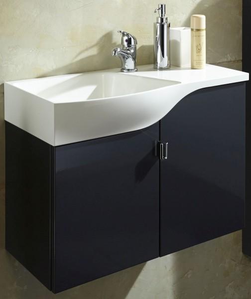 Marlin Gästebad 3010.5 Waschtisch mit Unterschrank 60,4 cm breit