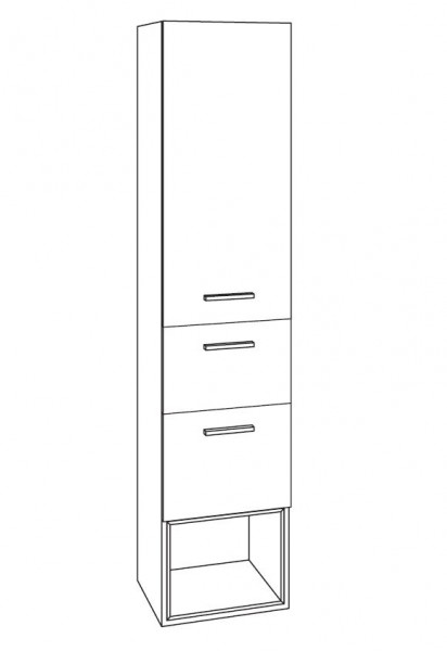 Marlin Bad 3250 Bad-Hochschrank 40 cm breit HTAAE4