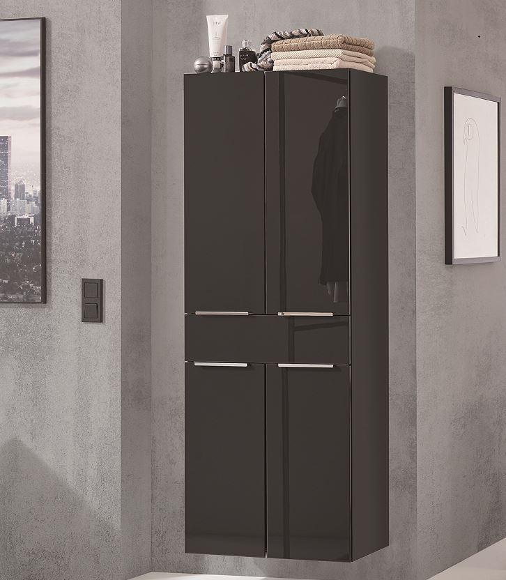 puris slim line bad hochschrank 60 cm breit hna056029. Black Bedroom Furniture Sets. Home Design Ideas
