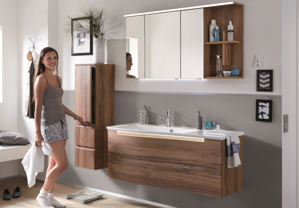 puris purefaction badm bel set 3 120 cm zwei ausz ge badm bel 1. Black Bedroom Furniture Sets. Home Design Ideas