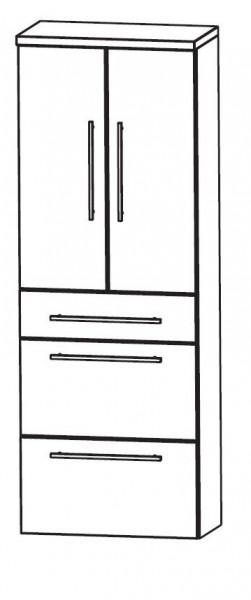 puris classic line bad hochschrank 60 cm breit hna096a7m badm bel 1. Black Bedroom Furniture Sets. Home Design Ideas