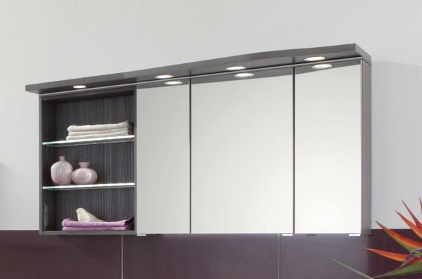 puris swing spiegelschrank 120 cm breit set41123l badm bel 1. Black Bedroom Furniture Sets. Home Design Ideas